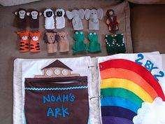 Little Inspirations: Noah's ark page