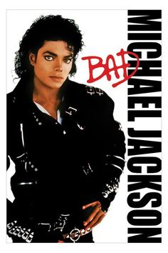 Music posters - Michael Jackson posters: Michael Jackson poster features a classic BAD album image of the late great King Of Pop. Michael Jackson was born on August 1958 and passed away on Jun Official Michael Jackson poster. Michael Jackson Album Covers, Michael Jackson Poster, Janet Jackson, Mickel Jackson, Band Poster, Invincible Michael Jackson, Bad Michael, Mj Bad, Worst Album Covers