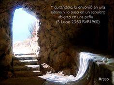 Aunque murió, su tumba esta vacía. Resucitó para interceder por ti y por mi, porque nos ama con amor eterno #rpsp
