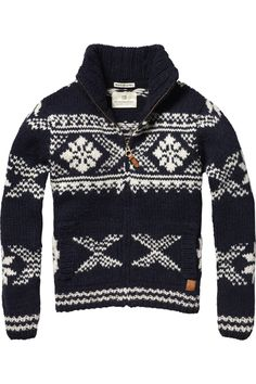 Scotch and Soda Sweater Jacket, Men Sweater, Jumper, Knitwear Fashion, Men's Knitwear, Style Masculin, Elegant Man, Knitting Designs, Knitting Patterns