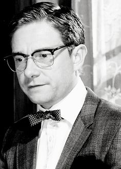 Martin Freeman in a bow tie because BOW TIES ARE COOL.