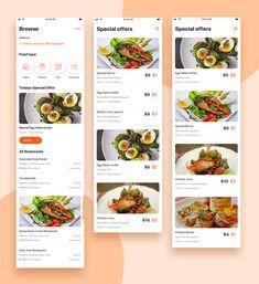 Team uinugget preview Ui Design Mobile, Mobile Application Design, Restaurant App, Restaurant Menu Design, Food Web Design, Web Ui Design, Mobile Mockup, Mobile App Ui, Website Design Inspiration