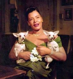 Billie Holiday: Drug bust with chihuahua, 1956   Dangerous Minds