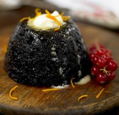 Brandy Butter the Perfect Partner for Your Christmas Pudding: Christmas Pudding with Brandy Butter