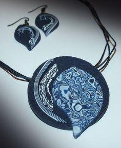 Jewerly, Polymer Clay, Pendant Necklace, Jewelery, Jewelry, Jewels, Jewlery, Modeling Dough
