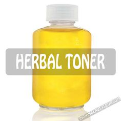 homemade herbal toner for clear skin from acne and scars