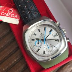 Bring a Loupe: A Funky Omega, A Rare Diver Chronograph From Breitling, And Many Other Interesting Watches From Rolex, Heuer, And Universal Geneve