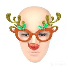 Rudolph the red nosed reindeer Christmas novelty glasses. Perfect for spreading Christmas cheer during the festive season at parties. Rudolph Red Nose, Rudolph The Red, Red Nosed Reindeer, Xmas Party, Christmas Parties, Party Fun, Party Supplies Uk, Christmas Glasses, Rudolph Christmas