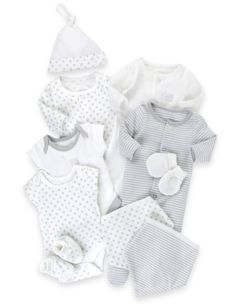 10 Piece Pure Cotton Starter Set - Marks & Spencer