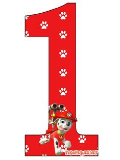 Paw Patrol Numbers free Paw Patrol Party, Paw Patrol Birthday, Personajes Paw Patrol, Dog Themed Parties, Parol, Printable Numbers, Birthday Numbers, Kids Learning Activities, Scrapbook Pages