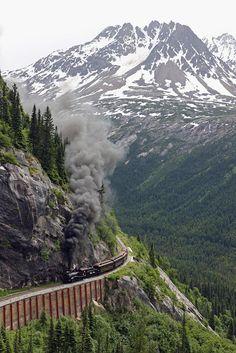 Mountain Rail, Yukon, #Alaska