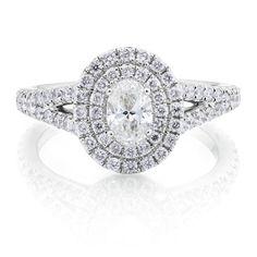 Michael Hill Designer Bridal Collection | 1 1/2 Carat TW Diamond Arpeggio Ring