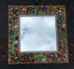 Mosaic mirror by Stephanie Beta Murphy
