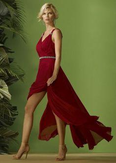 :: CARLA RUIZ ::   FETE 2020 Lancaster, Brighton, Nerja, High Low, Peplum, Formal Dresses, Fashion, Godmother Dress, Dress Designs