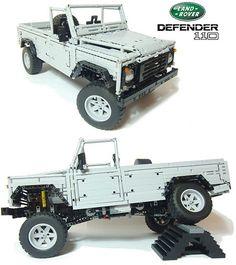 2800-Piece LEGO Land Rover Defender Actually Works - TechEBlog
