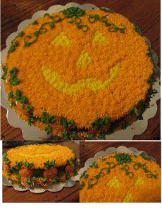 Pumpkin Cake - LynnDavisCakes.com