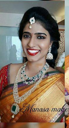 Diamond Necklace Set, Diamond Bangle, Diamond Jewellery, Indian Jewelry Sets, Indian Jewellery Design, Gems Jewelry, Wedding Jewelry, Statement Jewelry, Jewelery