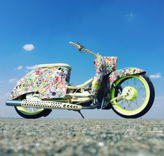 My custom Simson Schwalbe KR51/2 froh 1984 #stickerbomb_schwalbe by mulle2104