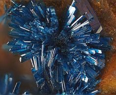 Clinoclase - Majuba Hill Mine, Pershing County, Nevada, United States of America