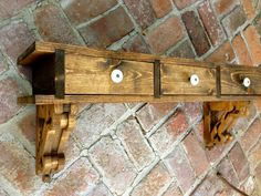 Floating Desk Wood Wall Desk Wall Mounted Shelf Entryway