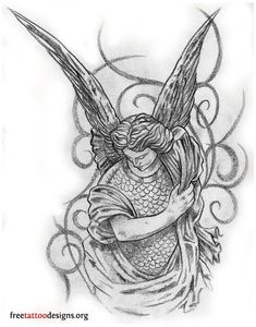 Tatoo 3d, Axe Tattoo, Lion Tattoo, Tattoo Cat, Angel Tattoo Drawings, Tattoo Sketches, Guardian Angel Tattoo, Angel Tattoo Men, Angels Tattoo