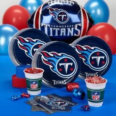 Tennessee Titans Standard Party Pack