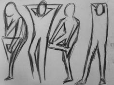 Scribble Drawing Process : Drawing by ebengho scribble series u steemit