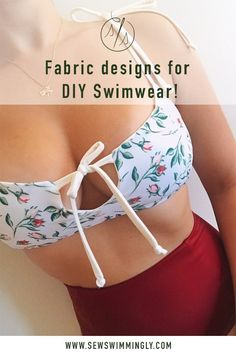 Fun, trendy fabric designs for DIY swimwear! Shop printed swimwear fabric for handmade bikinis and activewear. Source by sewswimmingly swimwear Fashion Sewing, Fashion Fabric, Diy Fashion, Ideias Fashion, Diy Clothing, Sewing Clothes, Ropa Interior Vintage, Swimsuits, Bikinis