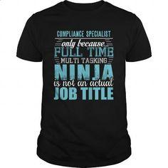 COMPLIANCE SPECIALIST Ninja T-shirt - #teestars #personalized sweatshirts. MORE INFO => https://www.sunfrog.com/LifeStyle/COMPLIANCE-SPECIALIST-Ninja-T-shirt-Black-Guys.html?60505