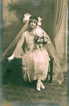 1920′s bride