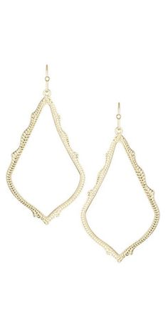 Loving this #gold #silver and #rosegold #Earrings from #kendrascott – Mabel & Zora