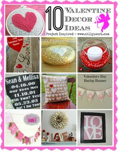 Ten Valentines Day Decor and Gift Ideas - The Silly Pearl
