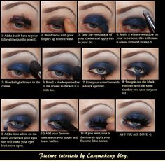 makeup tutorial for smokey eyes