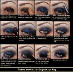 makeup tutorial for smokey eyes