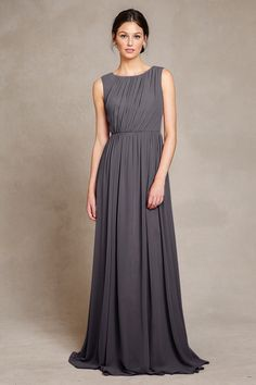 Bridesmaids   Dress Idea: Eloise Dress from Jenny Yoo in Charcoal.