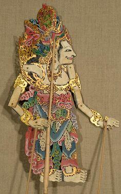 Wayang Kulit Shadow Puppet. Bali