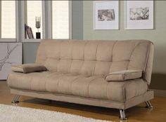 Coaster Home Furnishings Casual Sofa Bed Tan