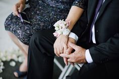 Classic Wrist Corsage by Blooms + Twine Floral Studio // Photo by Jac and Heath Photography // Venue Pullman Magenta Shores