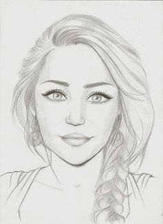 Miley Cyrus drawing on Pinterest
