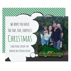 Christmas Vacation Photo Card - humor funny fun humour humorous gift idea