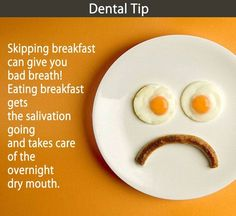 Are you skipping your breakfast? You might be surprised to know that, according to a research, missing your breakfast has been identified as one of the most common causes of bad breath within teenagers.