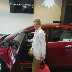 Congrats Nancy on the purchase of your new 2017 Focus Titanium! And Thank You for choosing #KoonsFord #Annapolis sold by @wilsondgreat #TeamKoons #YoureGonnaLoveIt #fordfocus #allsmiles #FordFamily