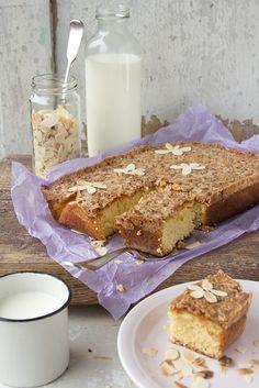 Classic, homey, wonderful Caramel Almond Cake.