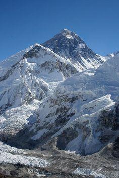 Monte Everest - 8848 metros sobre el nivel del mar Himalaya