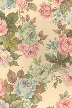 Antique floral