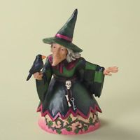 Jim Shore Pint Sized Halloween Witch Figurine ~ The Witching Hour ~ 4027795
