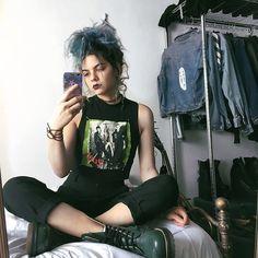 My grunge fashion : Photo