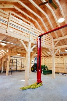 Carriage Barn Photos: The Barn Yard & Great Country Garages on Amazing Garage Ideas 988 Pole Barn Garage, Garage Loft, Garage Shed, Garage House, Garage Plans, Garage Workshop, Dream Garage, Pole Barns, Workshop Ideas