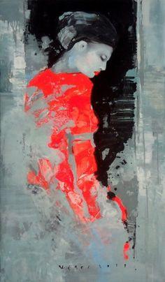 Viktor Sheleg, Expectation, Hillier Gallery - Contemporary Fine Art
