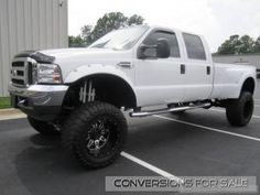 2001 Ford F350 Diesel Lifted Truck